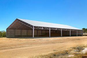 Fertilizer Storage Shed