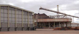 Oz Minerals Copper Storage Building