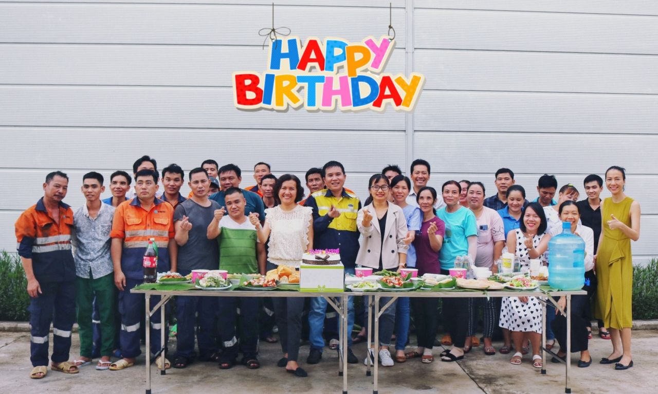 Monthly birthday party July